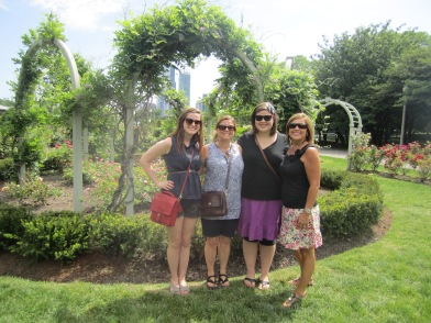 Hannah, Mitzi, Mama and I in Chicago