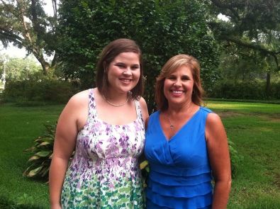 Mama and I at Ben and Jessica's wedding