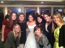 Jill. Bethany. Ashley. Mary. Katelyn. Alison. Liz. Ashley's wedding 11.17.2011. So thankful for these girls.