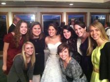 Jill. Bethany. Ashley. Mary. Katelyn. Alison. Liz. Ashley's wedding 11.17.2011. So thankful for these girls.