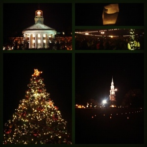 Photos from Lighting of the Way last night.