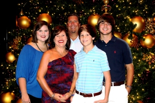 Family on the Thanksgiving Cruise