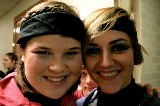Sam. Our wonderful director and choreographer. Love this girl, one of a kind for sure.