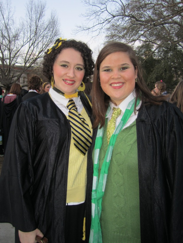 Rachel and I. Step Sing 2011