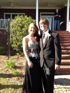Oh and my little brother went to prom last weekend too.