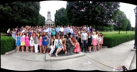 Class of 2013, photo credit: Samford U