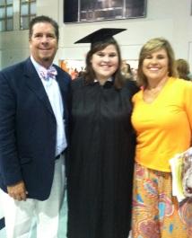 Daddy and Mama at Samford Graduation