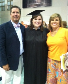 Daddy and Mama at Samford Graduation