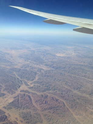 First View of Africa