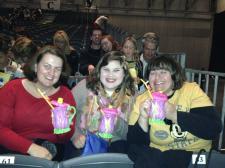 We got Tinkerbell cups