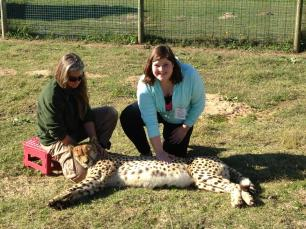 Me with the Cheetah