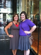 Mama and I in Chicago