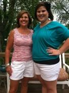 Mama and I on 21st birthday