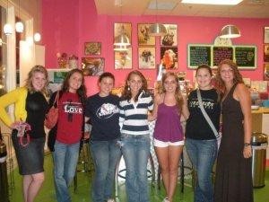 My hall freshmen year, !st West Forever!